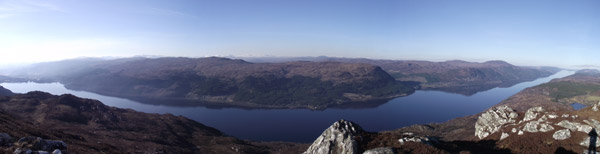 A walk from Shenval B&B Loch Ness end to end