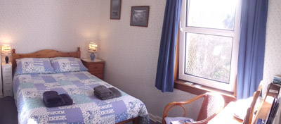 Shenval B&B Loch Ness room with ensuite shower