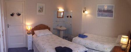 Shenval B&B Loch Ness chambre d'hôtes à deux lits